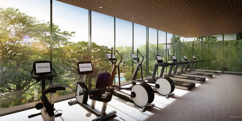 newlaunch.sg avenue south residence gym