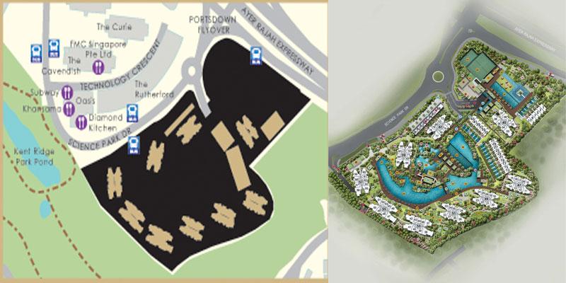 newlaunch.sg normanton park sitemap