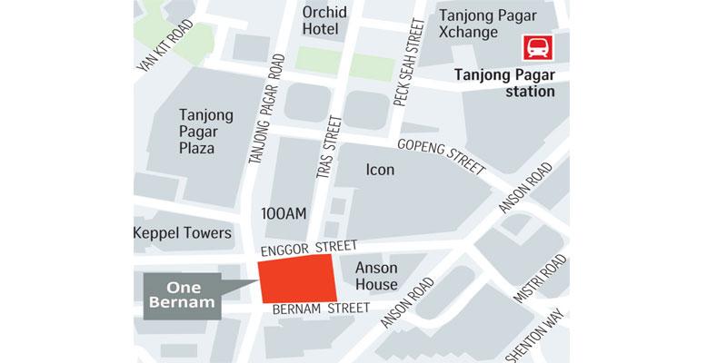 newlaunch.sg one bernam map