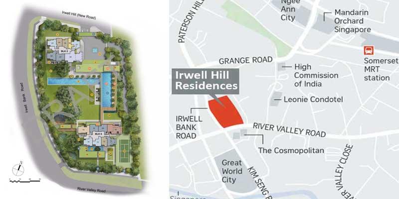 newlaunch.sg irwell hill residences sitelocation