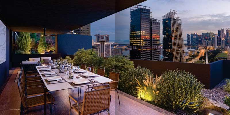 newlaunch.sg midtown modern dining view