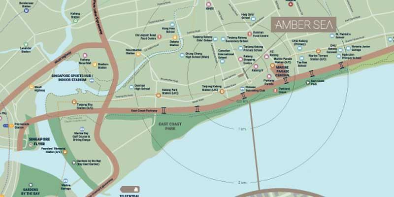 newlaunch.sg amber sea map